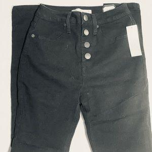 No Boundaries black high waisted jeans (Walmart).